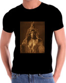 Chief Bears Belly  Native American Indian T Shirt