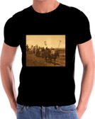 War Party Searching Native American Indian T Shirt