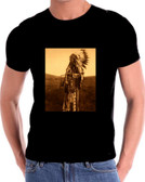 Chief High Hawk Native American Indian T Shirt