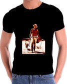 Hondo the dog and John Wayne T Shirt