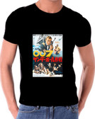 Thunderball Japanese Poster James  Bond 007 T shirt