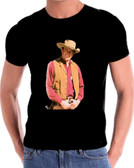 Gunsmoke Matt Dillon Black T Shirt