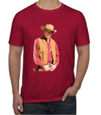 Gunsmoke Matt Dillon Red T Shirt