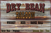Old Wood sign Lonesome Dove Lonesome Dove San Antonio Bar Scene Dodeling Service wood Sign 12 x 18