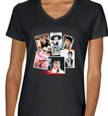 Collage Of Audrey Hepburn Mens T Shirt Pink Breakfast At Tiffany's  Black