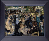 Ball At The Moulin De La Galette, Renoir On Canvas Framed Art Photograph Print