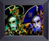 Venetian Masks Italian Style Art Framed Art Photograph Print