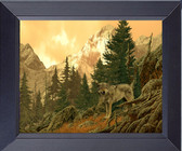 Wild Mustangs Painted Horses Framed Print