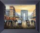 Arc De Triomphe - Paris Framed Print