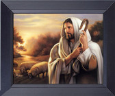 Jesus The Good Shepherd Art Framed Print