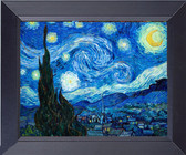 Monet Stary Nights  Fine Art Framed Print