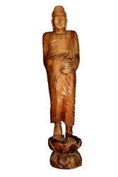 Gautama Buddha going for Arms Round Statue