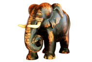 Wooden Elephant Mahogany