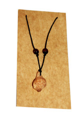 Lina Cirriped Pendent Necklace with Leather Code