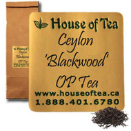 "Ceylon ""Blackwood"" OP - Organic Tea"