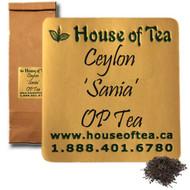Ceylon 'Sania' OP Tea