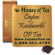 "Ceylon ""Kenilworth"" OP Tea"