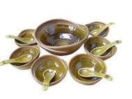 Dessert Set Olive Green ACDS-001