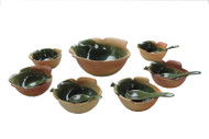 Dessert Set Dark Moss Green ACDS-006A