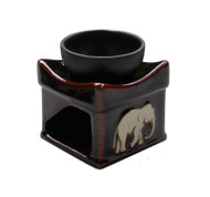 Handmade Oil Burner ACL-725 - Dark Brown