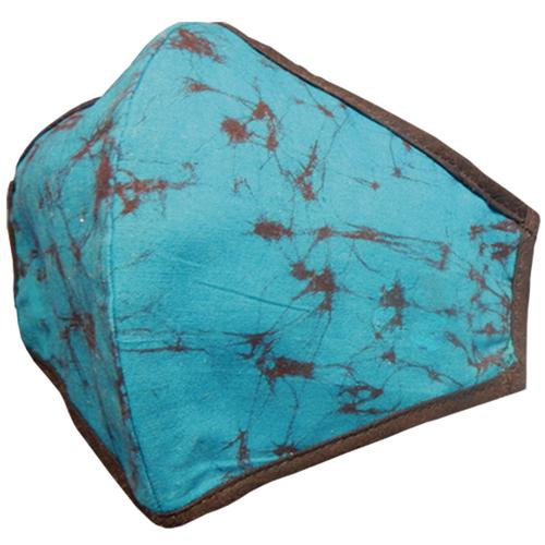 Ceylon Batik Face Masks Atlantic Blue (ESS-001)