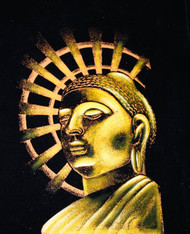 Gautama Supreme Buddha's Painting - Yellow
