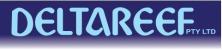 Deltareef's logo