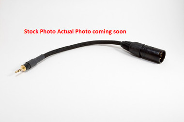 3ft Pro Series XLR Male to 3.5mm Cable (XLRM-35MM-3)