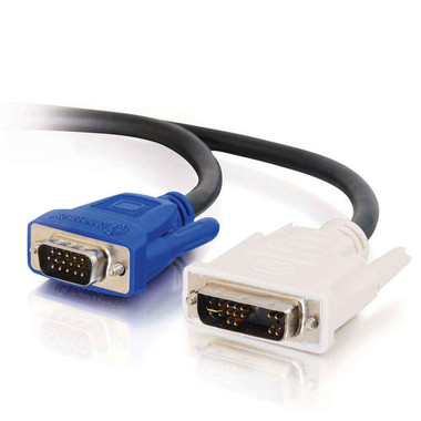 DVI MALE TO HD15 VGA MALE VIDEO CABLE