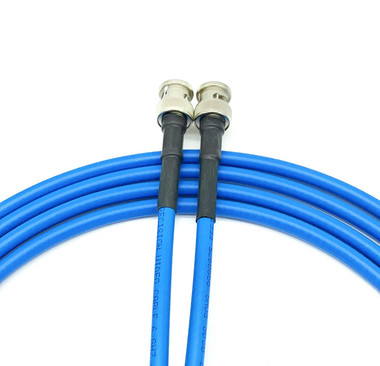 50ft Precision 75 Ohm RG59 3G/6G HD SDI Video Cables BNC-BNC (Belden 1505A)