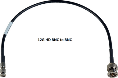 AV-Cables 12G HD SDI 4K High Density BNC to BNC - 4855R Mini RG59 Cable (SDI-12G-BNC-HDBNC)