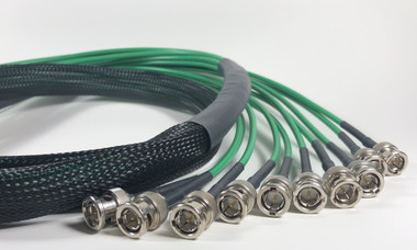 10 Channel 6G HD SDI BNC Snake Cable