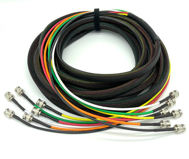 Cable Evolution Custom Channel 6G HD SDI BNC Snake Cable