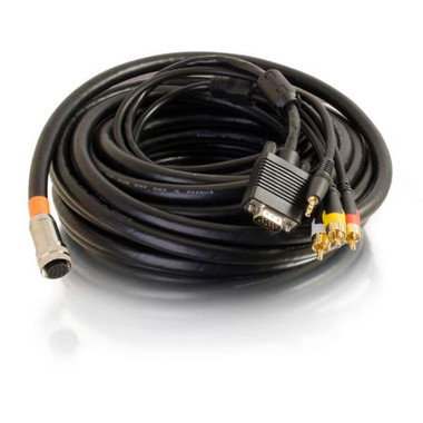 35ft RapidRun Multi-Format All-In-One Runner Cable - In-Wall CMG-Rated