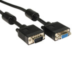 1ft Pro Series HD15 Male/Female VGA Extension Cable