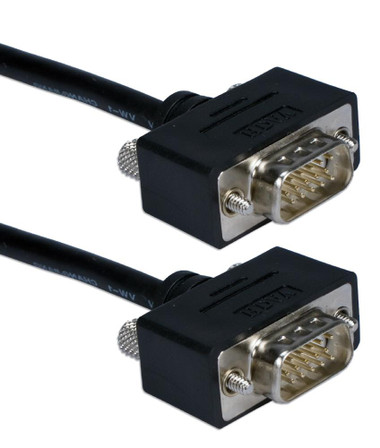 1ft UltraThin VGA HD15 Cable Male to Male