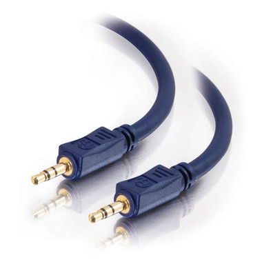 6ft Velocity 3.5mm Stereo Audio Cable Male to Male (40602)