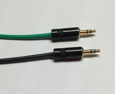 1.5ft Pro Series 3.5mm Stereo Audio Cable Male to Male (STEREO-AUDIO-1.5)