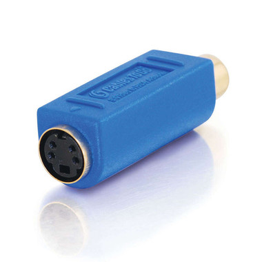 Bi-Directional RCA Female/ S-Video Female Video Adapter (13043)