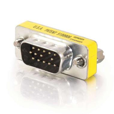 HD15 VGA Male to Male Mini Gender Changer (20686)