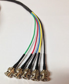 Plenum Rated 5 BNC RGBHV Component Video Cable