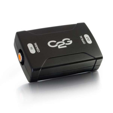 Coaxial to TOSLINK Optical Digital Audio Converter (40018)