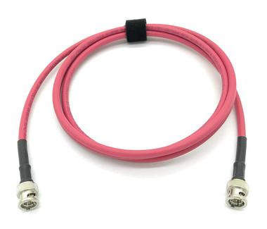 1.5ft Precision 3G/6G HD SDI Cable RG59 BNC Belden 1505A