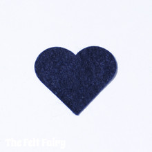 Midnight Felt Square - Wool Blend Felt **Discontinued - Limited Stock**