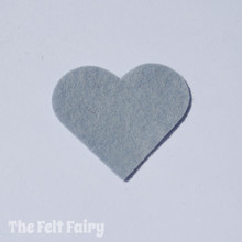 Dolphin Felt Square - Wool Blend Felt **Discontinued - Limited Stock**