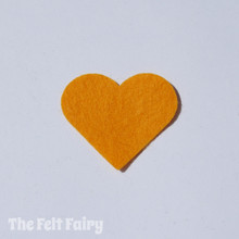 Mustard Felt Square - Wool Blend Felt **Discontinued - Limited Stock**