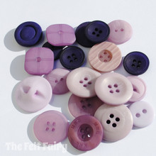 Purples - Stash Boost Buttons 30g