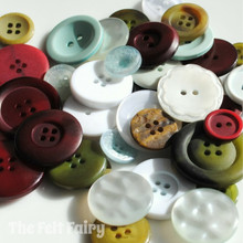 Winter Wonderland - Colour Collection Buttons 50g