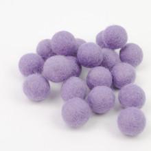 Lilac Felt Balls