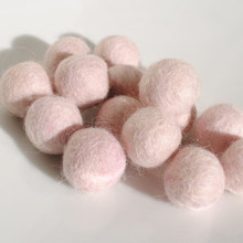Barely Pink Felt Balls